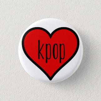 I heart kpop! 1 inch round button