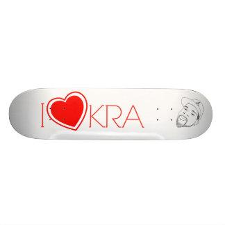 I Heart KRA Deck Skate Board Decks