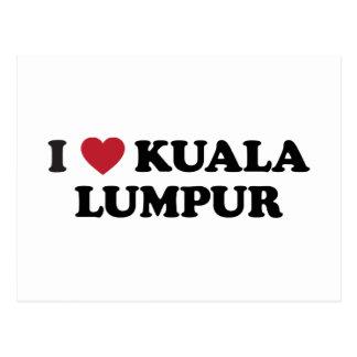 I Heart Kuala Lumpur Malaysia Postcard