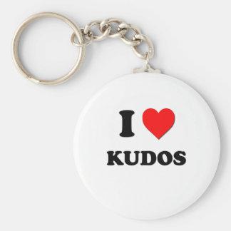 I Heart Kudos Keychain