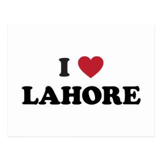 I Heart Lahore Pakistan Postcard
