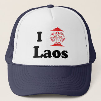 I Heart LAOS Trucker Hat