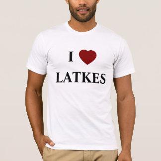 """I """"heart"""" LATKES t-shirt"""
