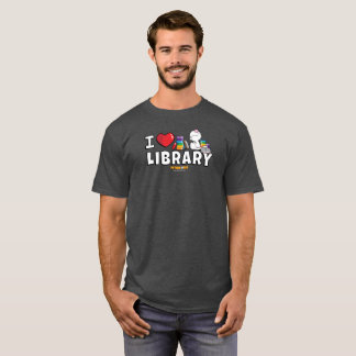 I Heart Library Men's Shirt