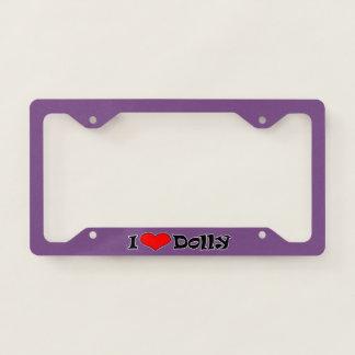 I Heart License Plate Frame