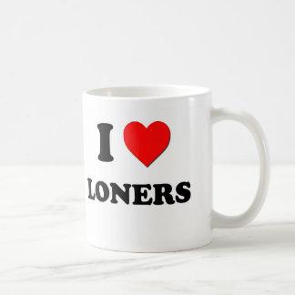 I Heart Loners Basic White Mug
