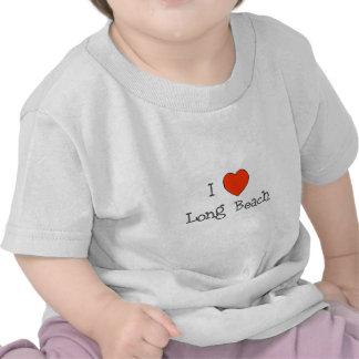 I Heart Long Beach Tee Shirts