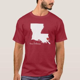 I Heart Louisiana - Customizable City T-Shirt