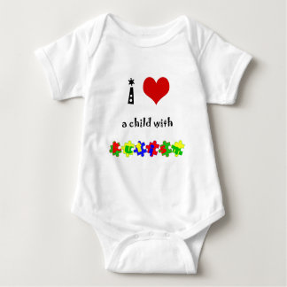 I Heart (Love) a Child with Autism T-shirts