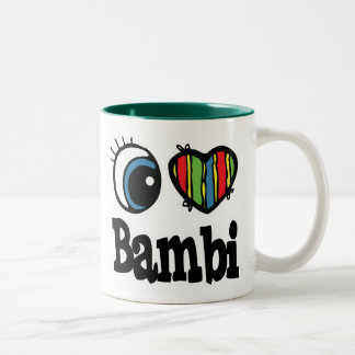 I Heart (Love) Bambi Mug