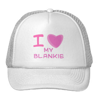 I Heart (Love) blankie Mesh Hat