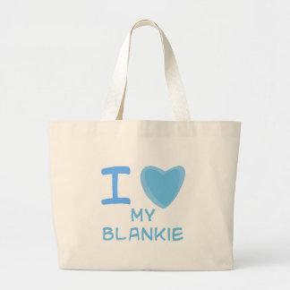 I Heart (Love) blankie Jumbo Tote Bag