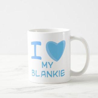 I Heart (Love) blankie Mug
