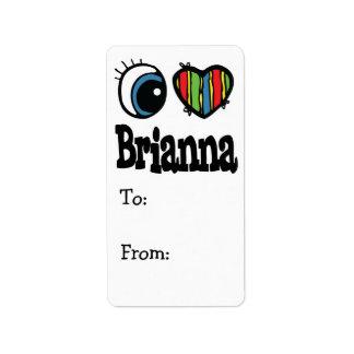 I Heart (Love) Brianna