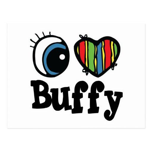 I Heart (Love) Buffy Post Cards