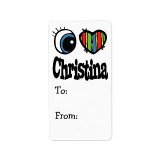 I Heart (Love) Christina