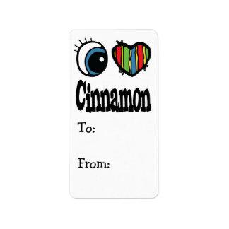 I Heart (Love) Cinnamon