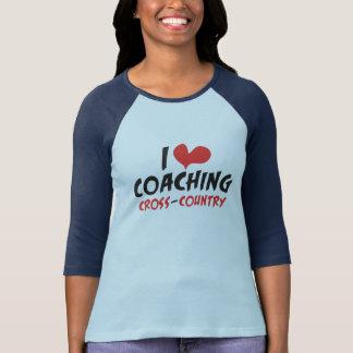 I heart (love) Coaching Cross Country T-Shirt