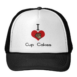 I heart-love cupcakes trucker hat