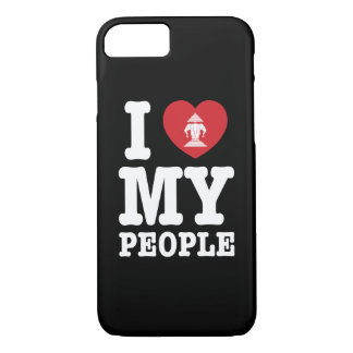 I Heart (Love) Erawan My Lao People iPhone 7 Case