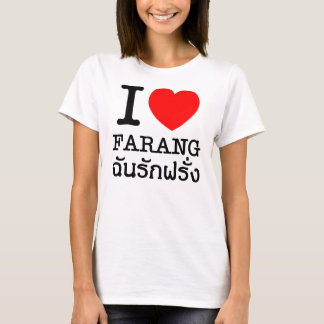 I Heart (Love) Farang T-Shirt
