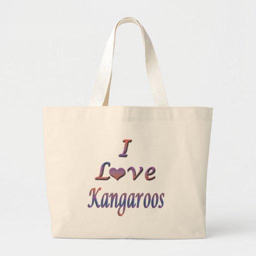 I Heart (Love) Kangaroos Bag