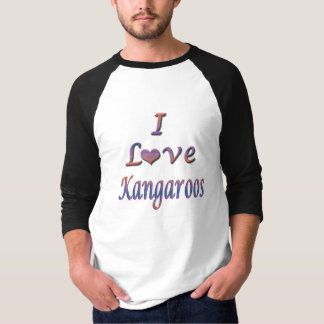 I Heart (Love) Kangaroos Tshirt