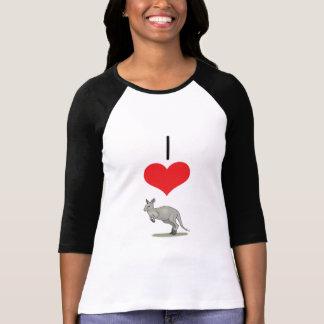 I Heart (Love) Kangaroos  Tshirts