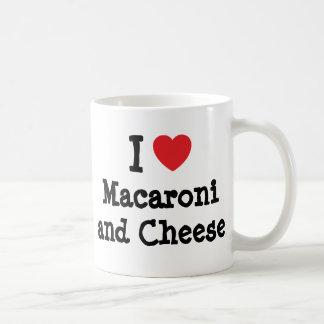 I heart (love) Macaroni and Cheese Classic White Coffee Mug
