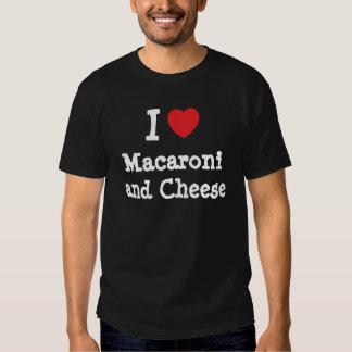 I heart (love) Macaroni and Cheese Tee Shirts