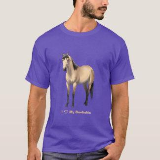I Heart (Love) My Buttermilk Buckskin Horse T-Shirt