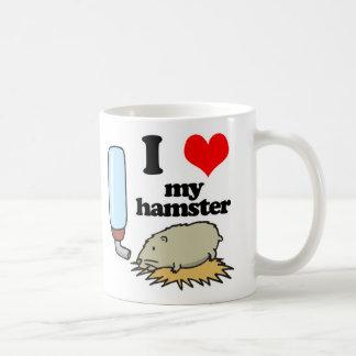 I Heart (Love) My Hamster Coffee Mug