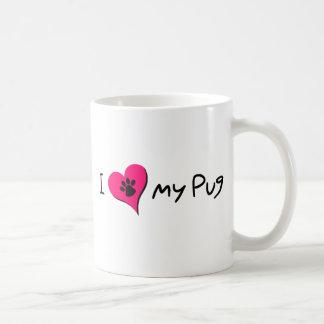 I [heart] Love my Pug Coffee Mug