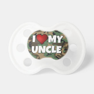 I (heart) Love My Uncle - Baby Pacifier