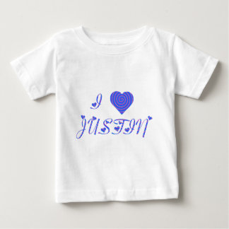 i heart/love [ personalizable ] 80's retro rainbow shirts