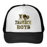 I (Heart) Love Redneck Boys Mesh Hat
