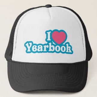 I Heart / Love Yearbook Trucker Hat