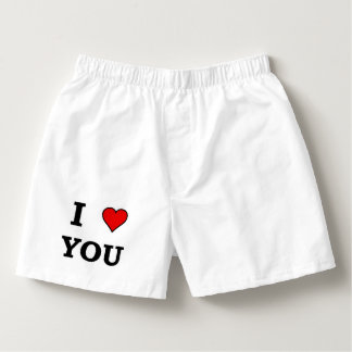 I Heart Love You Boxers