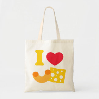 I Heart Mac and Cheese Budget Tote Bag