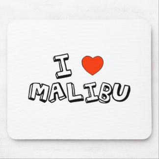 I Heart Malibu Mouse Pad