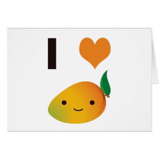 I Heart Mango Card