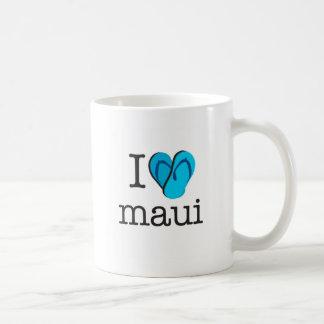 I Heart Maui Flip Flops Coffee Mug
