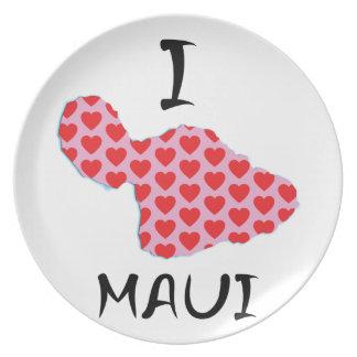 I heart Maui Plate