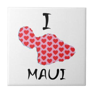 I heart Maui Tile