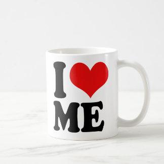 I Heart Me Classic White Coffee Mug