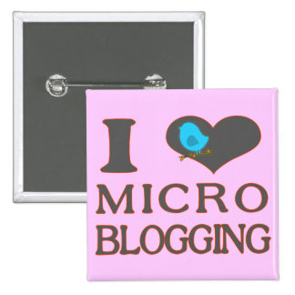 I Heart Micro Blogging Buttons