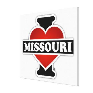 I Heart Missouri Canvas Prints
