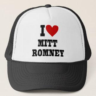 i heart mitt romney trucker hat