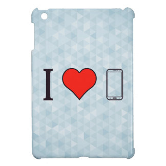 I Heart Mobile Phones Cover For The iPad Mini