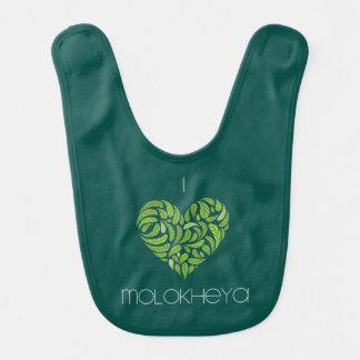 I Heart Molokheya Bib